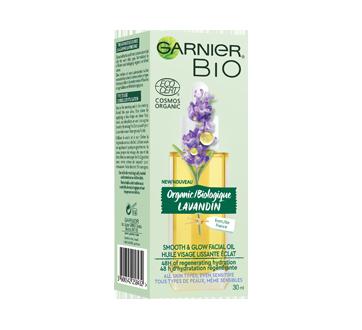 Garnier Bio huile visage lissante au lavandin biologique, 30 ml