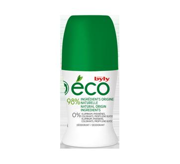 Éco déodorant à bille, 50 ml