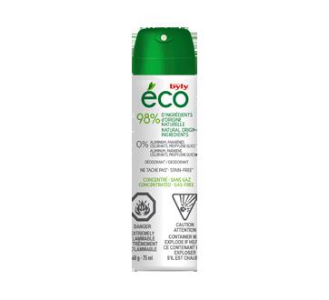 Éco déodorant aérosol concentré, 75 ml