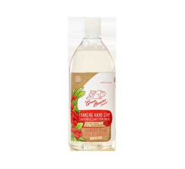 Savon moussant naturel pour les mains, recharge, 770 ml, délice aux canneberges