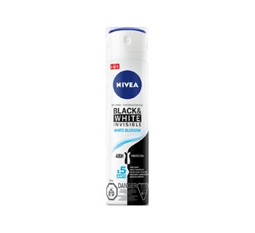 Black & White Invisible vaporisateur à sec protection antisudorifique 48h, 150 ml, White Blossom
