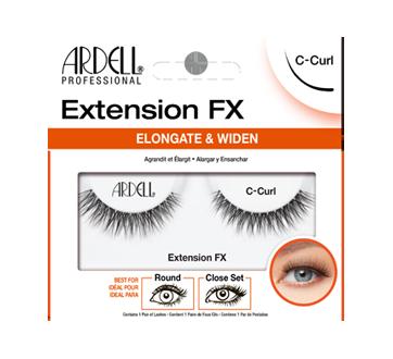 Extension FX faux-cils, 1 unité, C-Curl