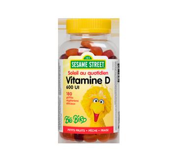 Image du produit Webber Naturals - Webber Naturals Vitamine D3, 600 UI, gélifiés, 180 unités