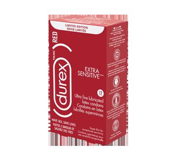 Image du produit Durex - RED Extra Sensitive condoms, 12 unités