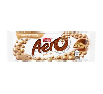 Aero or, 42 g, chocolat blanc caramélisé