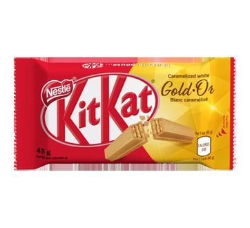 Kit Kat tablette, 45 g, blanc caramelizé