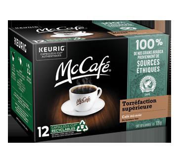 Capsules Keurig café mi-noir, 129 g