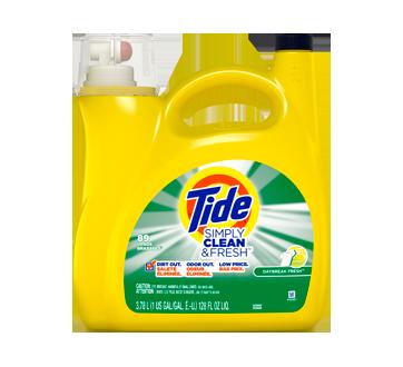 Simply Clean & Fresh détergent à lessive liquide, 3,78 L, Daybreak Fresh