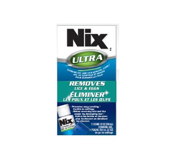 Image du produit Nix - Gel de coiffage pour éliminer les poux et les œufs, 59 ml