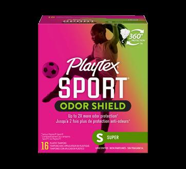 Sport Odor Shield tampons non parfumés, 16 unités, super