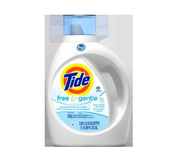 Détergent à lessive liquide, 2,04 L, Free & Gentle