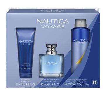 Nautica Voyage coffret, 3 unités