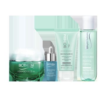 Image 2 du produit Biotherm - Aquasource gel pour peau normale à mixte coffret, 4 unités