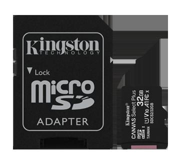 Canvas Select plus carte 32gb micro SDHC avec adaptateur, 1 unité