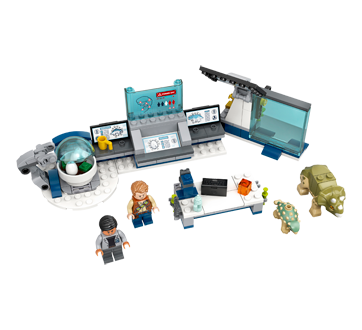 Image 2 du produit Lego - Le labo de Dr Wu : l'évasion des bébés dinosaures, 1 unité