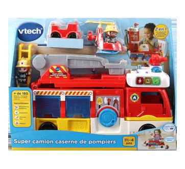 Super camion caserne de pompiers version française, 1 unité