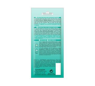 Image 2 du produit Garnier - Skinactive bombe à l'humidité masque sachet pour les yeux avec eau de coco, 6 g
