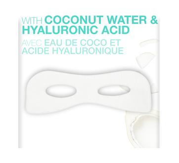 Image 4 du produit Garnier - Skinactive bombe à l'humidité masque sachet pour les yeux avec eau de coco, 6 g