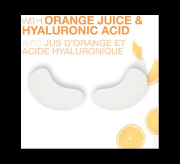 Image 3 du produit Garnier - Skinactive bombe à l'humidité masque sachet pour les yeux avec jus d'orange, 6 g