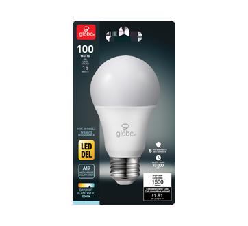 Ampoule DEL A19 100W, 1 unité, blanc froid