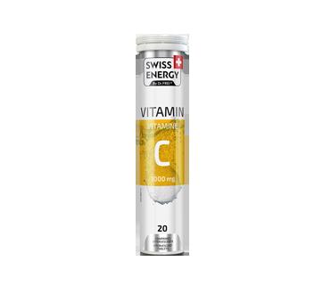 Image du produit Swiss Energy - Vitamine C, 20 unités, saveur de citron