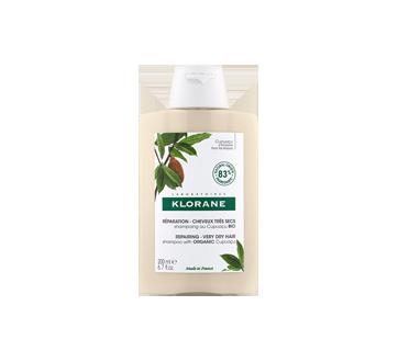 Nutrition & Réparation shampooing au beurre de Cupuaçu bio, 200 ml