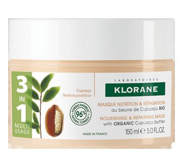 Nutrition & Réparation masque au beurre de Cupuaçu bio, 150 ml