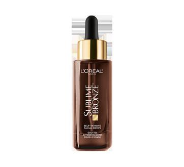 Sublime Bronze autobronzant sérum pour le visage avec acide hyaluronique, 30 ml