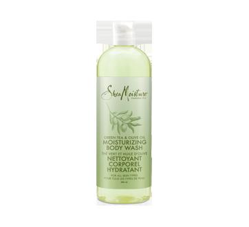 Nettoyant corporel hydratant pour tous les types de peau, 586 ml, thé vert et huile d'olive