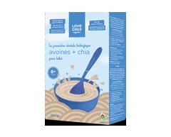 Image du produit Love Child Organic - Céréales biologiques pour bébé, 227 g, avoine + chia
