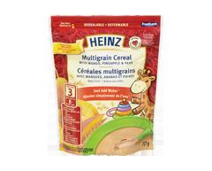 Image du produit Heinz - Cereales multigraines avec mangues, ananas et poires, 227 g