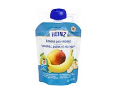 Image du produit Heinz - Purée pois mangue sachet, 128 ml