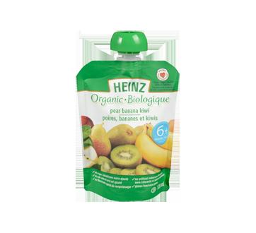 Purée biologique poire banane kiwi sachet, 128 ml