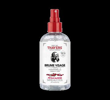 Brume visage sans alcool formule à l'hamamélis et à l'aloès, 237 ml, pétale de rose