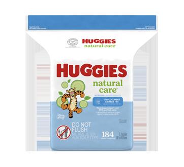Little Snugglers couches pour bébés taille nouveau-nés, 184 unités, concombre et thé vert