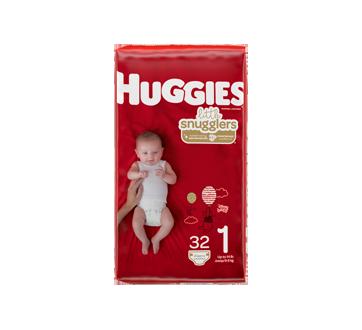 Little Snugglers couches pour bébés  taille 1, 32 unités