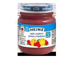 Image du produit Heinz - Purée de pommes et framboises, 128 ml