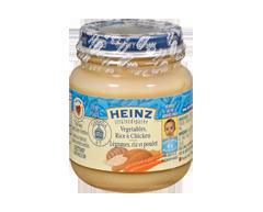 Image du produit Heinz - Légumes riz et poulet, 128 ml