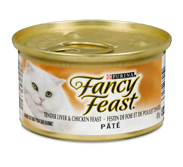 Fancy Feast nourriture pour chats adultes, 85 g