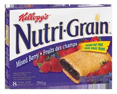 Image du produit Kellogg's - Nutri-Grain barres de céréales fruits des champs, 295 g