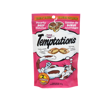 Whiskas Temptations bœuf, 85 g