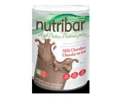 Image du produit Nutribar - Protéines Plus substitut de repas en poudre, 380 g, chocolat au lait