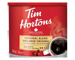 Image du produit Tim Hortons - Café mouture fine en boîte, 930 g, original