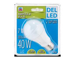 Image du produit PJC - Ampoule del 7/40W, blanc doux