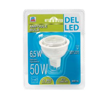 Ampoule DEL 6.5/50W, blanc doux