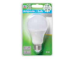 Image du produit PJC - Ampoule DEL 9 W, 1 unité, blanc doux