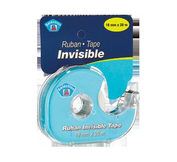 Ruban invisible, 1 unité
