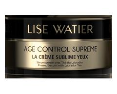Image du produit Lise Watier - Age Control Supreme La crème sublime yeux, 15 ml