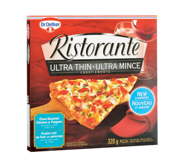 Ristorante pizza, 355 g, pollo