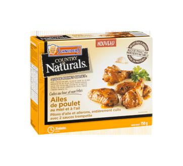 Image 2 du produit Schneiders - Country Naturals ailes de poulet, 750 g, miel et ail